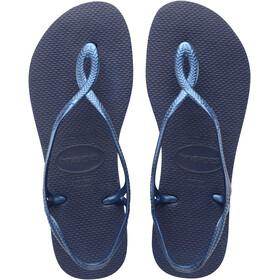 havaianas Luna Sandalen Dames blauw